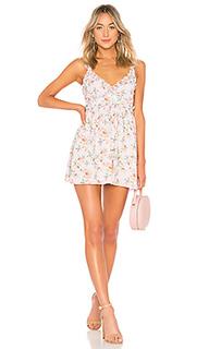 Мини-платье в цветы raya - Lovers + Friends
