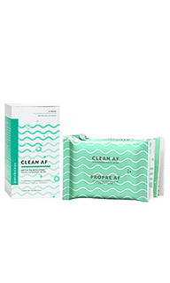 Набор салфеток для лица clean af facial cleansing wipes 4 pack - Patchology