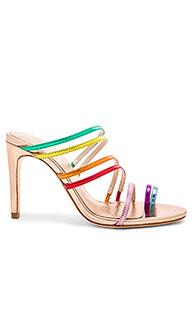 Туфли на каблуке с открытым носком prism - RAYE