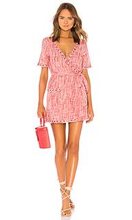 Мини-платье с короткими рукавами rocky - Tularosa