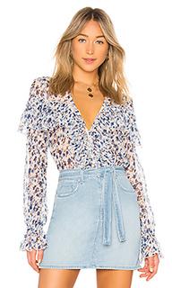 Блузка с длинным рукавом mariel - MAJORELLE