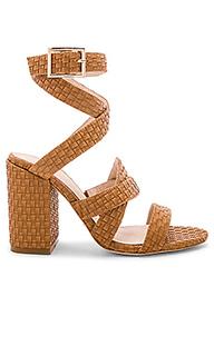Туфли на каблуке с открытым носком femme - RAYE