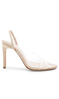 Туфли на каблуке с открытым носком barnett - RAYE