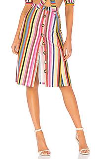 Мини юбка на пуговицах button up - LPA