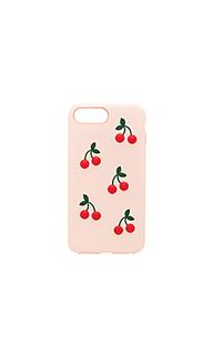 Чехол для iphone 6/7/8 plus patent cherry - Sonix