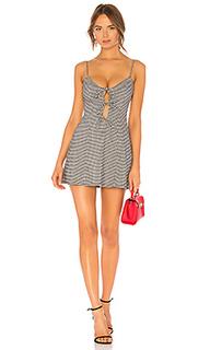 Облегающее сверху платье-мини с широким низом beth - Lovers + Friends