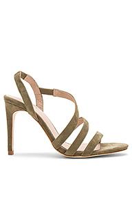 Туфли на каблуке с открытым носком klein - RAYE