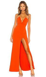 Вечернее платье без бретелек fabiola - Lovers + Friends