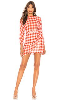 Платье с завязывающимся поясом seth - Lovers + Friends