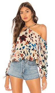 Блуза с открытыми плечами syrah - Tularosa