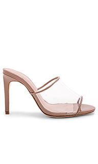 Туфли на каблуке с открытым носком barbie - RAYE
