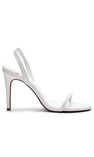 Туфли на каблуке с открытым носком becky - RAYE