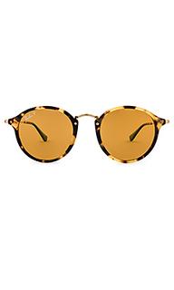 Солнцезащитные очки round fleck pop - Ray-Ban