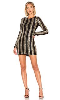 Мини-платье с длинным рукавом john - NBD