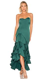 Вечернее платье без бретелек omar - NBD