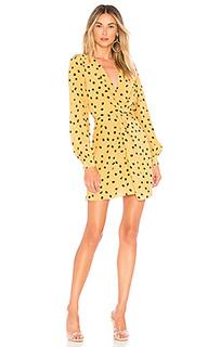 Мини-платье с длинным рукавом francesca - LAcademie Lacademie