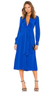 Платье миди plunge knot - Diane von Furstenberg