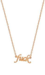 Ожерелье fuck - Natalie B Jewelry