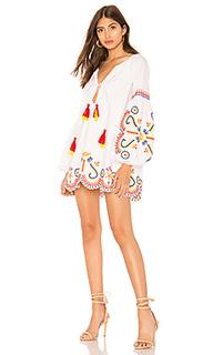 Мини-платье с длинным рукавом justina - Tularosa