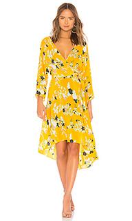 Платье с асимметричным подолом - Diane von Furstenberg