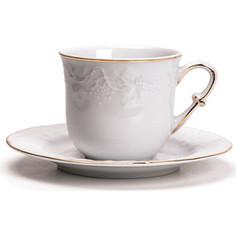 Набор чайных пар 0.22 л 12 предметов La Rose des Sables Vendange Dor (699506 1009)