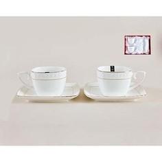 Набор чайный 4 предмета 240 мл Коралл Снежная королева (CS507009-A)