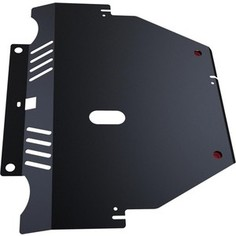 Защита картера и КПП АвтоБРОНЯ для Ford Mondeo (2007-2010), S-Max (2006-2010), сталь 2 мм, 111.01808.1