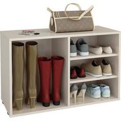 Полка для обуви Мастер Лана-2 ПОЛ-2 (1С+1П) (дуб молочный) МСТ-ПОЛ-1С-1П-ДМ-16 Master