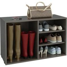 Полка для обуви Мастер Лана-2 ПОЛ-2 (1С+1П) (венге) МСТ-ПОЛ-1С-1П-ВМ-16 Master