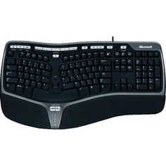 Клавиатура Microsoft Natural Ergonomic Keyboard 4000 USB Black (B2M-00020)
