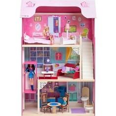 Кукольный домик PAREMO Муза (с мебелью)