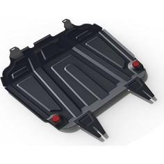Защита картера и КПП Big АвтоБРОНЯ для Citroen C4 Aircross / C-Crosser / Mitsubishi ASX / Outlander XL, сталь 2 мм, 111.04016.3