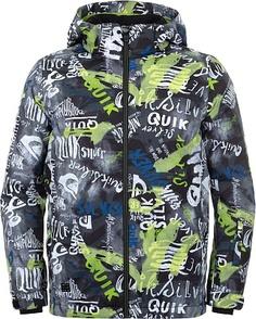 Куртка утепленная для мальчиков Quiksilver Mission Printed, размер 134-140