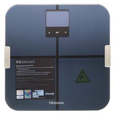 Напольные весы MEDISANA BS 440 Connect, до 180кг, цвет: черный [40423]