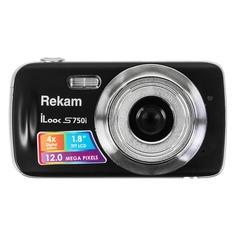 Цифровой фотоаппарат REKAM iLook S750i, черный