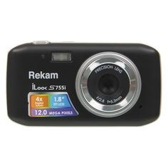 Цифровой фотоаппарат REKAM iLook S755i, черный