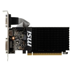 Видеокарта MSI nVidia GeForce GT 710 , GT 710 2GD3H LP, 2Гб, DDR3, Low Profile, Ret [geforce gt 710 2gd3h lp]