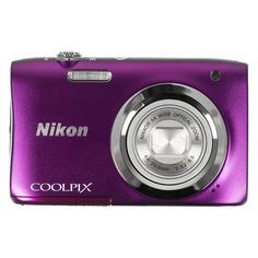 Цифровой фотоаппарат NIKON CoolPix A100, фиолетовый