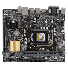 Материнская плата ASUS H110M-R/C/SI, LGA 1151, Intel H110, mATX, Ret (White Box)