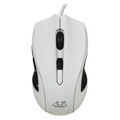 Мышь ASUS Cerberus Arctic оптическая проводная USB, белый и черный [90yh00w1-baua00]
