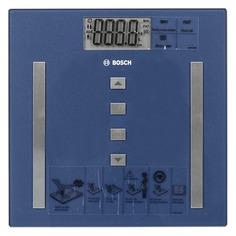 Напольные весы BOSCH PPW3320, до 180кг, цвет: синий