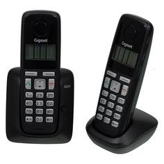 Радиотелефон GIGASET A220 Duo, черный