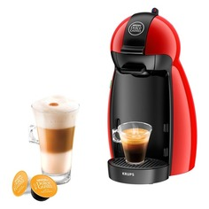 Капсульная кофеварка KRUPS Dolce Gusto KP100610, 1500Вт, цвет: красный [8000035335]