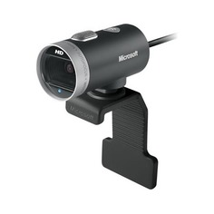 Web-камера MICROSOFT LifeCam Cinema for Business, черный и серебристый [6ch-00002]