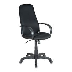 Кресло руководителя БЮРОКРАТ Ch-808AXSN, на колесиках, ткань, черный [ch-808axsn/tw-11]