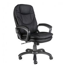 Кресло руководителя БЮРОКРАТ Ch-868AXSN, на колесиках, искусственная кожа, черный [ch-868axsn/black]