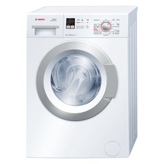 Стиральная машина BOSCH WLG20160OE, фронтальная загрузка, белый