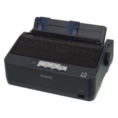Принтер струйный EPSON LX-350, матричный, цвет: черный [c11cc24031 ]