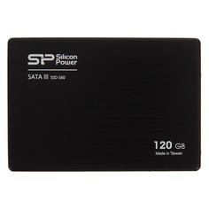 "SSD накопитель SILICON POWER S60 SP120GBSS3S60S25 120Гб, 2.5"", SATA III"