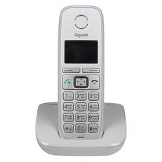 Радиотелефон GIGASET E310, серебристый